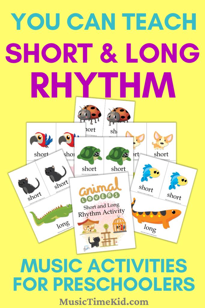 Rhythm Activity for Preschoolers