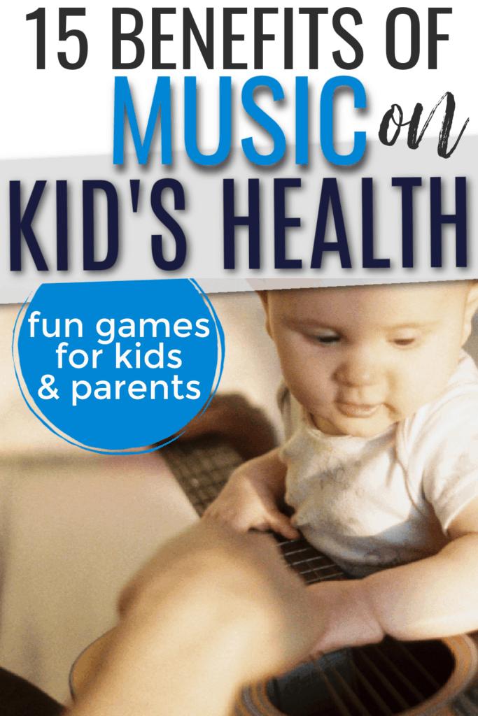 benefits of music on kids health