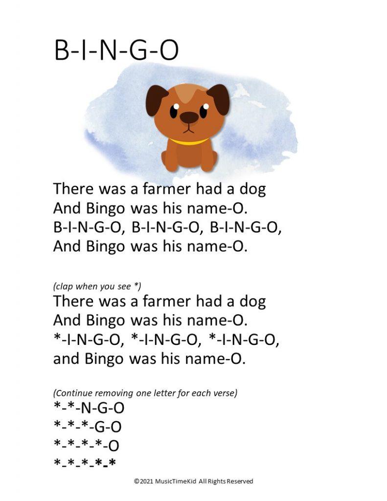 bingo clap song